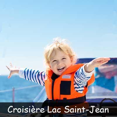 Croisière découverte sur le Lac Saint-Jean « Découvrez le majestueux lac Saint-Jean et son histoire d'un point de vue complètement différent ! » Une aventure juste pour vous d'une vingtaine de kilomètre sur l'eau, seulement de petits groupes à la fois afin d'assurer une expérience de qualité ( max 5 participants par sortie). Votre capitaine et guide naturaliste Charles Dufour vous fera découvrir l'immensité du Lac Saint-Jean et vous renseignera sur le côté historique des lieux visités.
