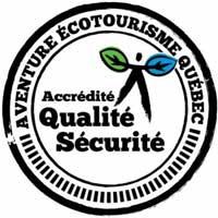 En matière d'activités en plein air, nous prenons la qualité et la sécurité au sérieux! Utiliser les services d'un professionnel, c'est vous assurer de la qualité de votre activité de plein air et que celle-ci respecte toutes les normes environnementales, écotouristiques et de sécurité. Une entreprise accréditée par Aventure Écotourisme Québec se spécialise dans l'offre d'une ou de plusieurs activités de plein air en tourisme d'aventure et en écotourisme au sein d'un milieu naturel. Les entreprises membres de l'association sont toutes accréditées «Qualité-Sécurité». De plus, plusieurs d'entre elles possèdent l'accréditation «Écotourisme» pour une ou plusieurs de leurs activités.